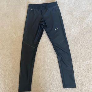 Leather Nike workout leggings